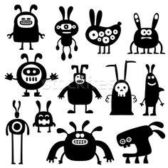 crazy rabbits set04 - vektorgrafika  - készítette artenot - Stockfresh #578512