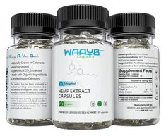 WAAYB Organics CBD Capsules are a nutritional supplement extracted from organic, Colorado-grown hemp. Take one to two capsules of WAAYB Organics CBD capsules daily to enjoy a happier, healthier life and enjoy many benefits. Adhd Diet, Organic Living, Natural Living, Mct Oil, Organic Farming, Natural Oils, Natural Healing, Nutritional Supplements, Nutrition Education