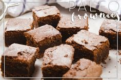 Quick + Easy: Nut-Free Brownies [PALEO]
