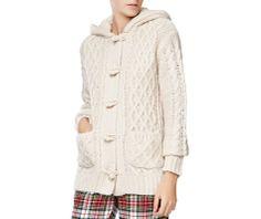 Chaqueta tricot capucha - OYSHO