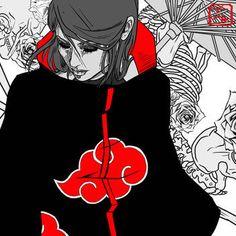 Naruto by on DeviantArt Naruto Family, Naruto Girls, Naruto Art, Anime Naruto, Anime Girls, Boruto, Naruto Shippuden, Hinata, Itachi