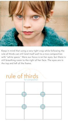 """Great tips on the """"rule of thirds"""" and """"white space"""" when taking photos. Love this site!"""