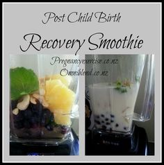 Postnatal recovery Smoothie
