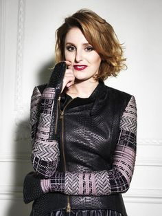 Lady Edith. But really, this is the gorgeous Laura Carmichael.