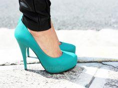 blue, fashion, heels, high heels, shoes, stilletos, turquoise