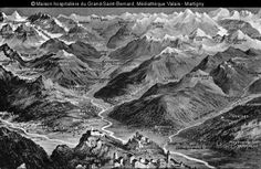 carte du valais central 1910 Central, Mount Everest, Mountains, Nature, Travel, Anonymous, Naturaleza, Viajes, Trips