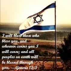 Pray for Israel!! Genesis 12:3