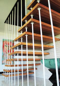 Chapter 17- Stairs and Halls described the seven basic design shapes used for showcases and evaluated their appropriateness for various applications. It also evaluated a hallway in terms of function, durability, and decoration.