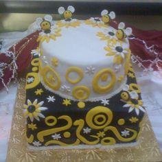 Bumble Bee cake I made.