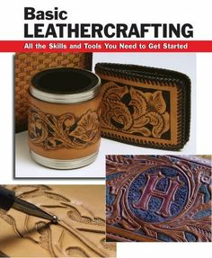 Step-by-step instructions and photos illustrate basic leathercrafting techniques: choosing leather, stamping and decorating, stitching and lacing, and finishing. Projects in both traditional and contemporary styles. Detailed how-to information teaches what you need to learn to get started in this fun and popular craft.