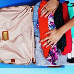 Travel 27 Brilliant Tips for Booking a Trip, Packing and Vacationing. From booking flights to packing beauty products. Suitcase Packing Tips, Carry On Suitcase, Packing Tips For Travel, Travel Essentials, Packing Hacks, Travel Hacks, Packing Ideas, Travel Ideas, Travelling Tips