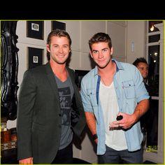 Liam and Chris Hemsworth ❤❤❤