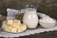 How to make Kefir butter, sour cream, cream cheese, and soft/hard cheese.
