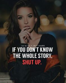 Here you will find the best women motivational Quote. Attitude Quotes For Boys, Boss Babe Quotes, Positive Attitude Quotes, Quotes In Hindi Attitude, Classy Quotes, Girly Quotes, Wisdom Quotes, True Quotes, Qoutes