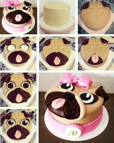 Pug Cake Ideas You'll Love this Cute Collection