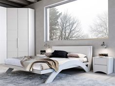 Double bed MOONLIGHT by MAZZALI