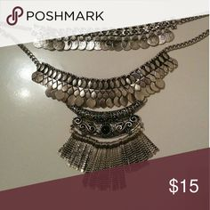 Statement Necklace This statement necklace is from fashion blogger Marianna Hewitt's mystery box!! Jewelry Necklaces