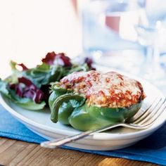 Try this easy jasmine rice-stuffed pepper recipe for a delicious home-cooked family meal.