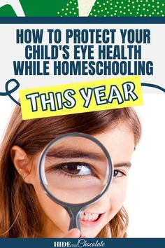 August is Children's Eye Health and Safety Month, which is an awareness month dedicated to the importance of eye health and exams for children anywhere between the ages of 3 and 18. Many people overlook eye health unless there are obvious signs of vision problems, like eye rubbing, squinting, or discomfort. When homeschooling and online learning this year, you should ensure your child's eye health is in good condition and remains that way by following some of our suggestions! Online Book Club, Parent Resources, Parenting Teens, How To Protect Yourself, Health And Safety, Book Club Books, That Way, Eyes, Children