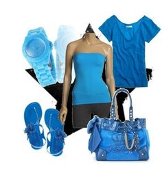 Putting cerulean blue in your wardrobe is a great idea!  thestir.cafemom.com