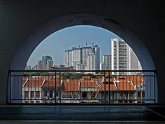 Arches l Hong Lim Complex l Upper Cross Street, Singapore. If you are sick of bumping elbows with tourists, head for this pocket of old-time Chinatown, where 'uncles' sit around watching the world go by and foreign faces still draw attention. http://www.pbase.com/chanseng/image/74287858