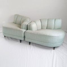 Hollywood Regency Sofa chairs. Very cool!