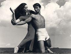 Martha Graham and Erick Hawkins, 1938, photo by Barbara Morgan