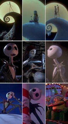 The Nightmare Before Christmas has a cult following for one very good reason—it's awesome! Let's see how big of a fan you are. Can you tell us if these images are in the correct order?
