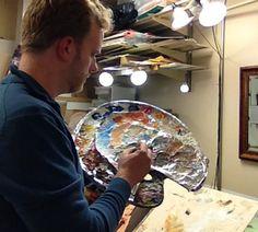 How I do Shading with Acrylic (Video)