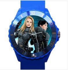 Plastic Watch VALERIAN and LAURELINE #MIYOTAquartz