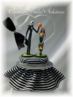 Jack and Sally The Nightmare Before Christmas by CreativeBridal