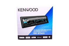 Kenwood KDC-BT562U MP3 FM Receiver FRONT AUX USB + Bluetooth TDF(Theft Deterrent Faceplate)Anti-Dust Flip-up door 1.5 Line Variable Color LCD Display Rotary Encoder and Direct Key (TEL) for easy operation