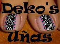 Imagen relacionada Manicure Y Pedicure, Toe Nail Designs, Toe Nails, Lily, Tattoos, Ant, Yuri, Nailart, Finger Nails