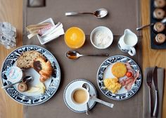 Enjoy a sumptuous breakfast at our restaurant Le Rochegrise☕️ Spa, Restaurant, Breakfast, Food, Alps, Morning Coffee, Diner Restaurant, Essen, Meals