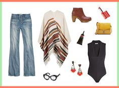 Style Resolutions: How to Style a Cape This Fall via Brit + Co.
