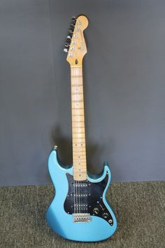 American Made Fender Prodigy Electric Guitar Blue Made in USA 1991-1992