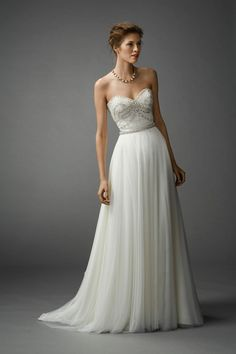 Watters Bridal Spring 2015 Collection Gracia Tulle Bridal Skirt | www.onefabday.com