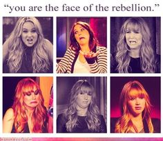 Jen = The Face of the rebellion