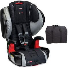 Britax Pinnacle G1 1 ClickTight Harness 2 Booster Car Seat With Travel Bag