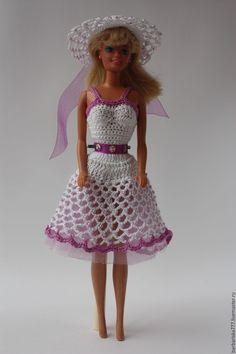 Купить Сарафанчики! - барби, одежда для кукол, подарок девочке, игрушки, ярко-красный ☆