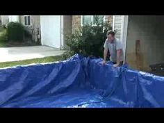 Homemade pool - I have not watched this yet, so idk what is on here.