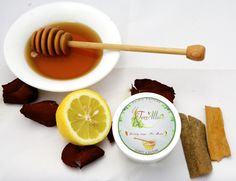 """HONEY SAYS """"NO ACNE"""": Honey has great antibacterial qualities, which mixed with cinnamon and soothing rosewater treats and prevents Acne to reappear."""