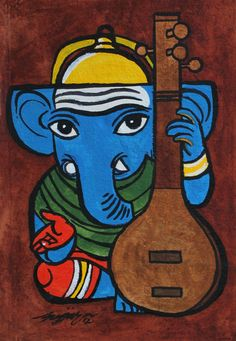 Ganesh online shopping for Art - buy latest collection Ganesha Drawing, Lord Ganesha Paintings, Lord Shiva Painting, Ganesha Art, Shri Ganesh, Ganesh Lord, Worli Painting, Art Painting Gallery, Canvas Art Prints
