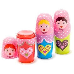 Matriyarca Russian Doll Lip Balms