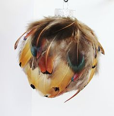Crafts After College: Feather Ornament