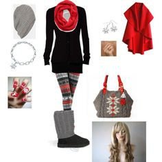 A fashion look from December 2012 featuring Splendid t-shirts, UGG Australia ankle booties and Mother of Pearl earrings. Browse and shop related looks.