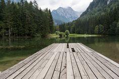 jezersko lake pontoon - best hiking in Slovenia