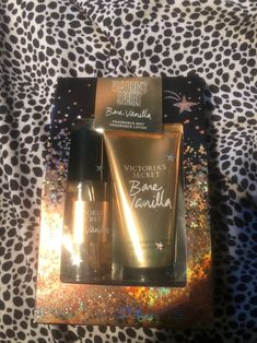 Brand new Victoria's Secret vanilla bone travel set. This is similar to the vanilla lace scent if not the same. Fragrance Lotion, Fragrance Mist, Mecca Wallpaper, Bathroom Stuff, Travel Set, Spa Party, Self Care Routine, Victoria Secrets, Smell Good