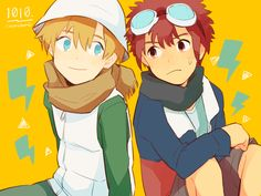 Digimon Adventure 02: TK and Davis