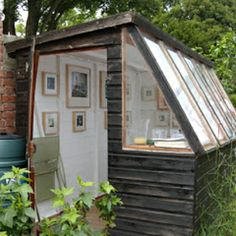 Turn your shabby garden shed into a charming artist's shed--and tons of other clever renovation ideas.